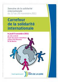 Actes du carrefour 2011 de la Solidarité Internationale